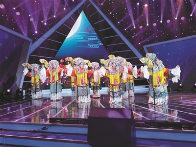 大同市14位京剧票友压轴亮相央视《一鸣惊人》录制现场